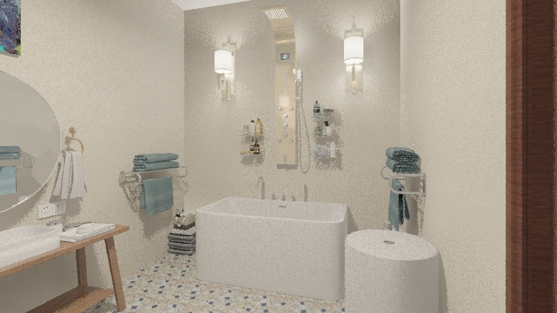 Natural Modern HD 2 Interior Design Render