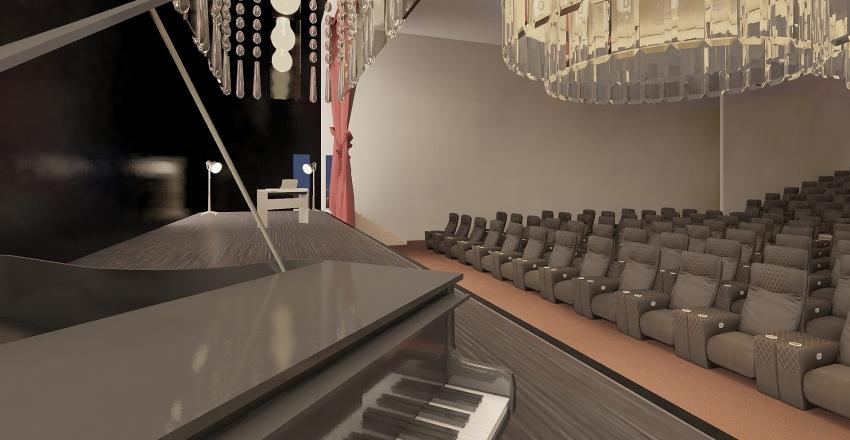 Auditorium Interior Design Render