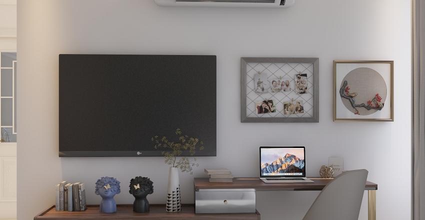 Manhatan Study Interior Design Render