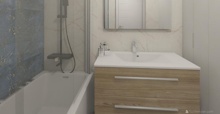 plan mieszkania3 Interior Design Render