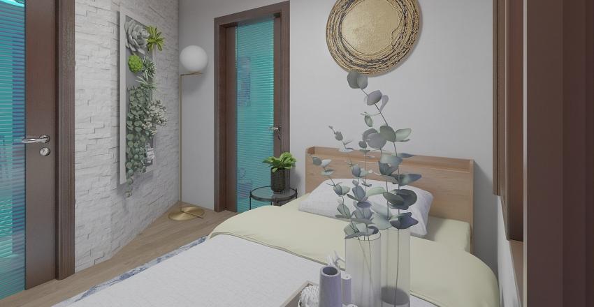 Small Apartment Interior Design Render