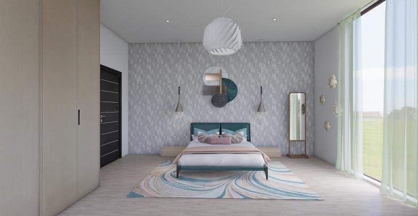 Mirror rooms Interior Design Render