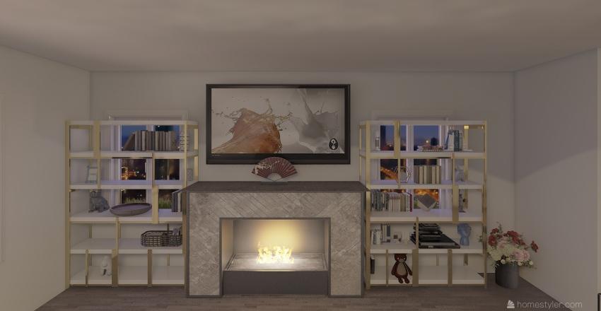 Furniture Arrangement Portfolio Interior Design Render