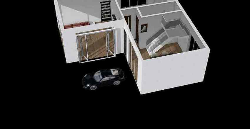 Ngoi nha mo uoc Interior Design Render