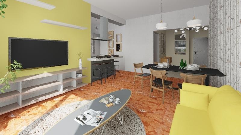 De marco soggiorno 02 Interior Design Render