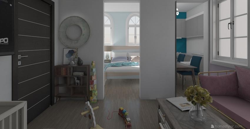 apartment 5 Interior Design Render