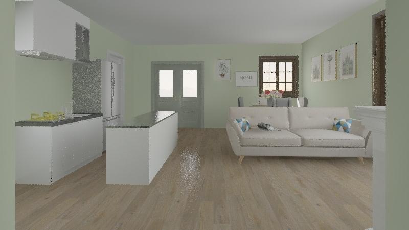 houuse Interior Design Render