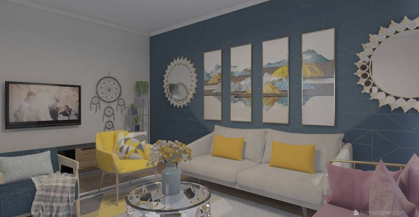 asmaa Interior Design Render