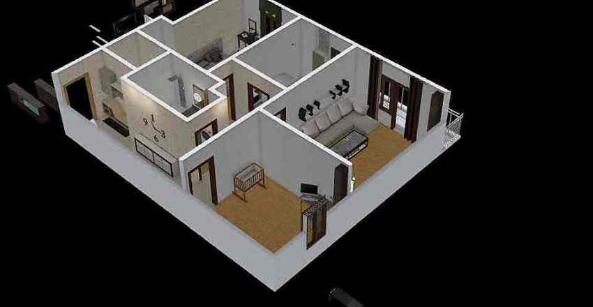 ap3 residence Interior Design Render