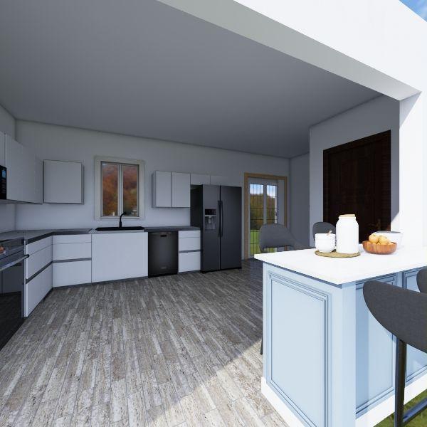 Kitchen remastered Interior Design Render