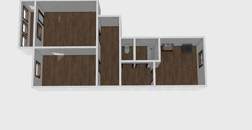 2-комн_0330 Interior Design Render