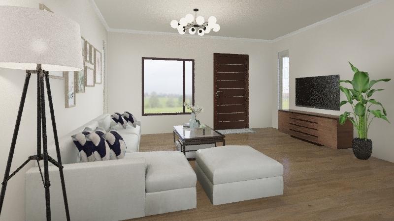 Happy and Blue - Airish Interior Design Render