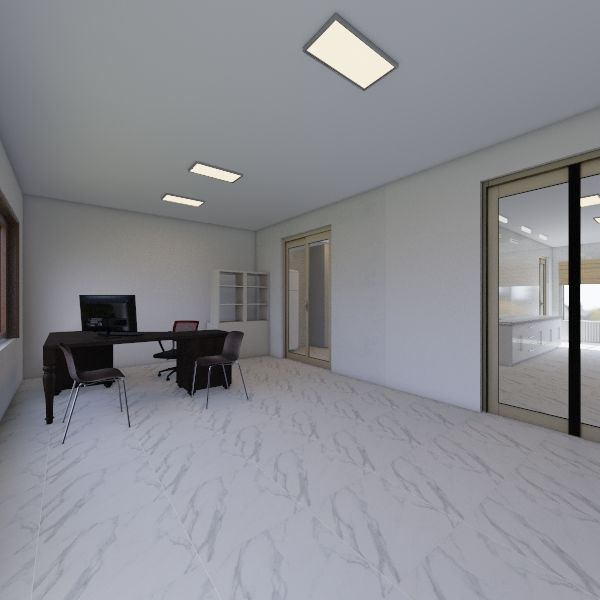 lab Interior Design Render