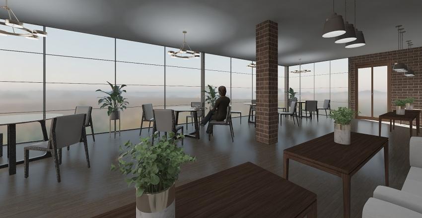 2 зал Interior Design Render