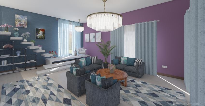BÜŞRANIN EVİ Interior Design Render