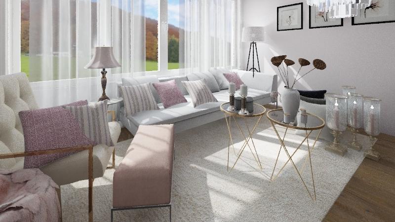 pinki Interior Design Render