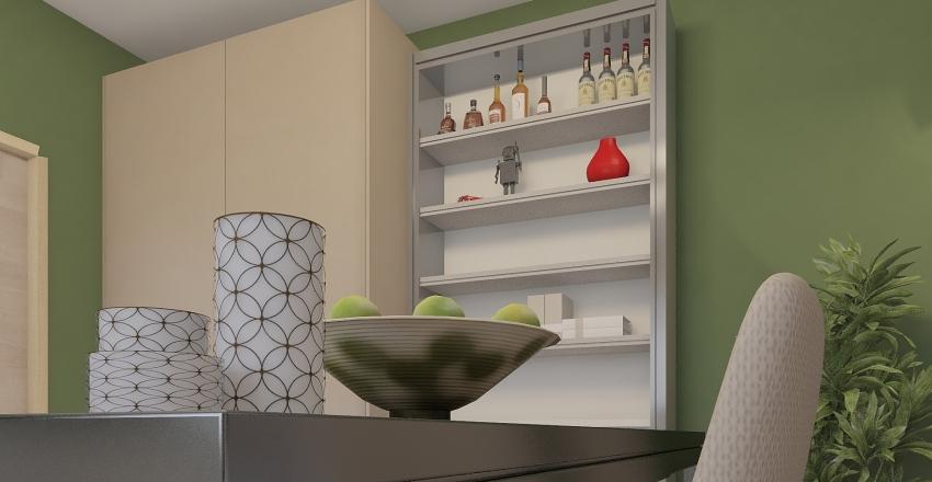 Small Living Room Interior Design Render