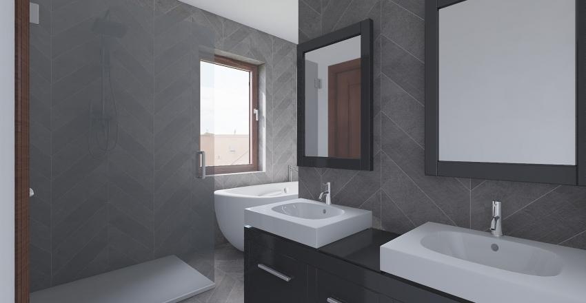 Via VIII Marzo - bagno Interior Design Render