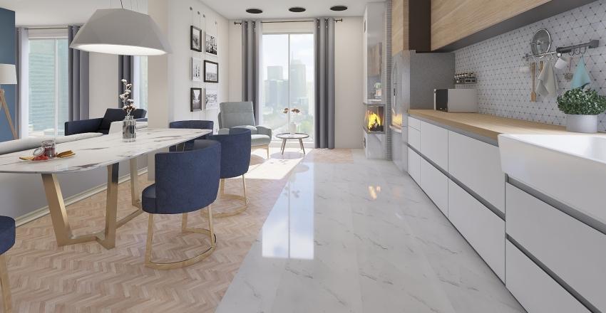 Totaly different apartment Interior Design Render