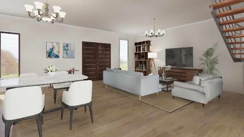 Living big in a tiny house - Airish Interior Design Render