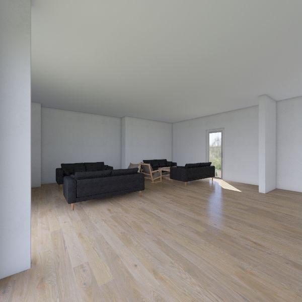 Sala relax Interior Design Render
