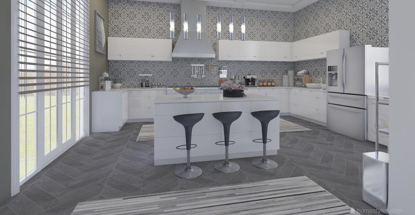 Project Home Interior Design Render