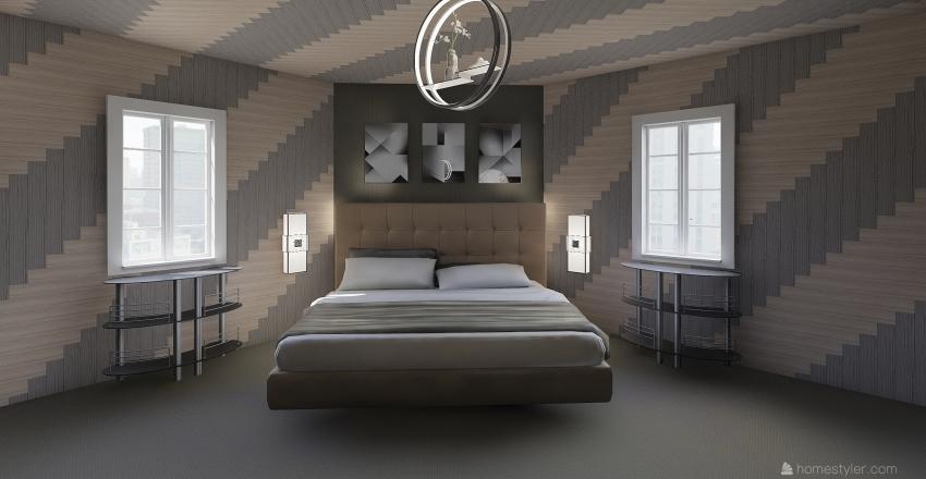 Diamond Bedroom Interior Design Render