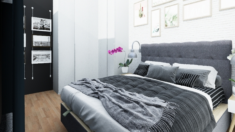 Nasza sypialnia Interior Design Render