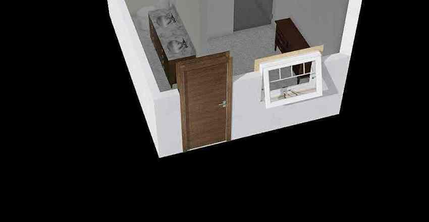 Santa Ines bathroom Interior Design Render