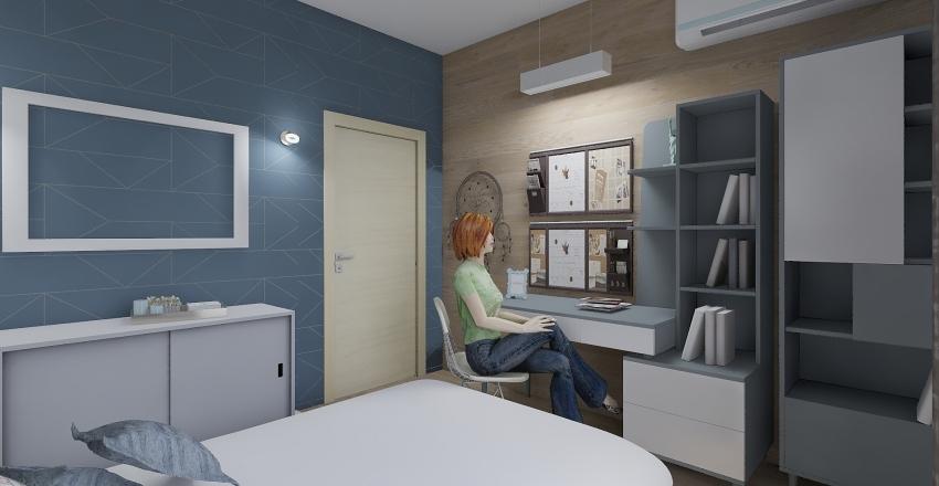 RDC duplexe Interior Design Render