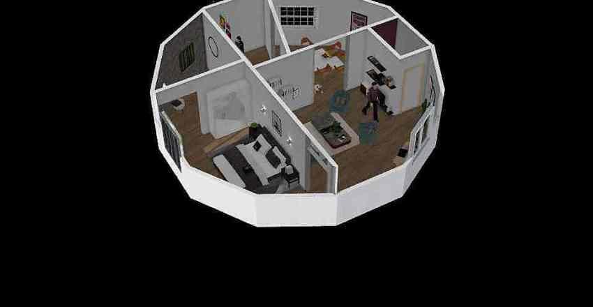 hector dodécagone2 Interior Design Render
