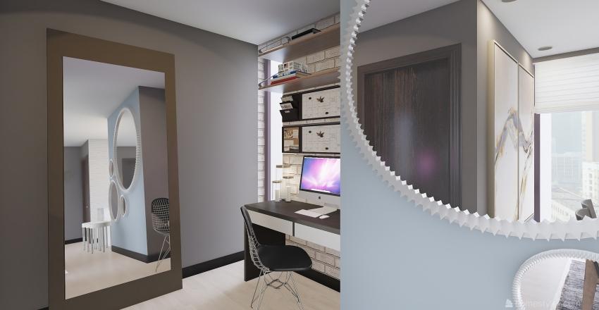 RASHKANN APARTMENTS Interior Design Render