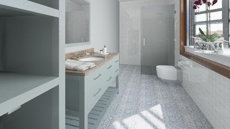 flat 100m2 Interior Design Render