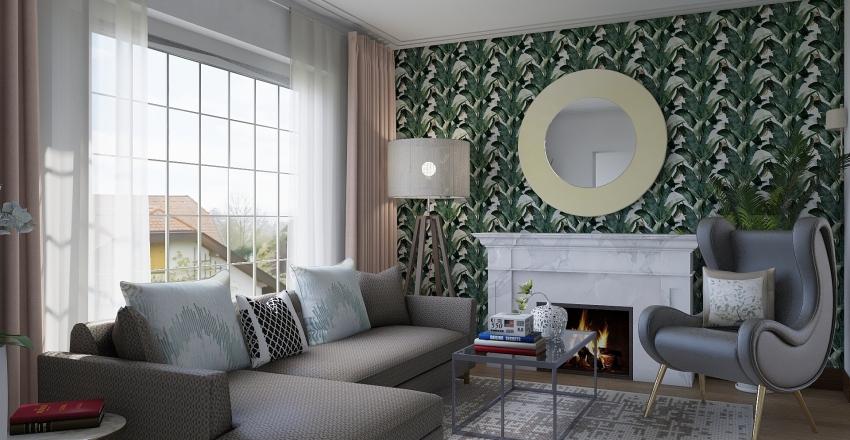 Fireplace_room Interior Design Render