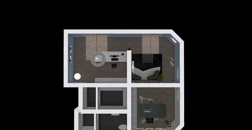 francavilla locale commerciale progetto Interior Design Render
