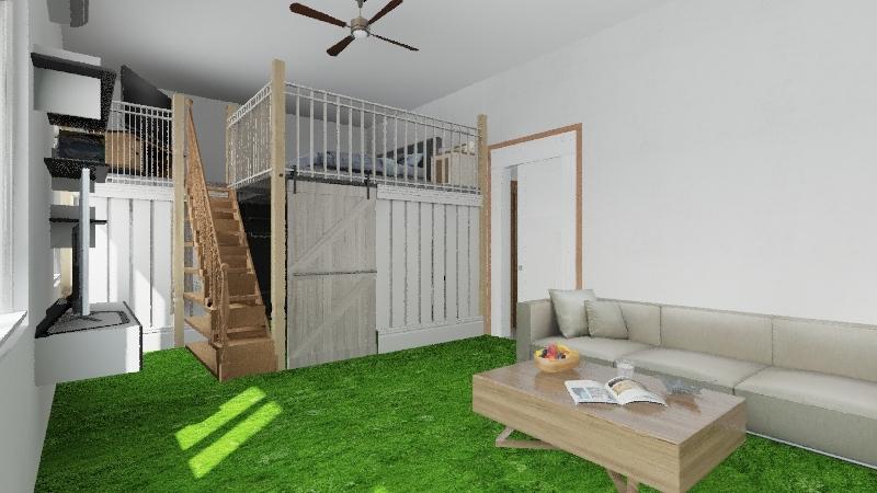 Progetto casa 1 Interior Design Render
