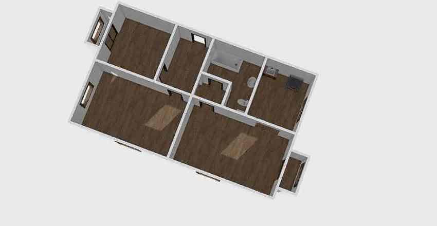 3-комн_0224 Interior Design Render