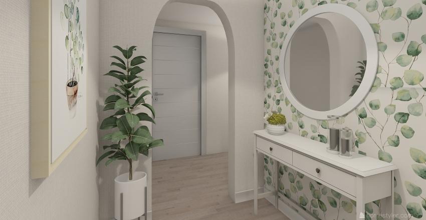 Przedpokój Kleszczewo Interior Design Render