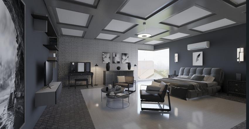 In the gray  Interior Design Render