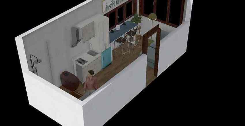 banyo Interior Design Render