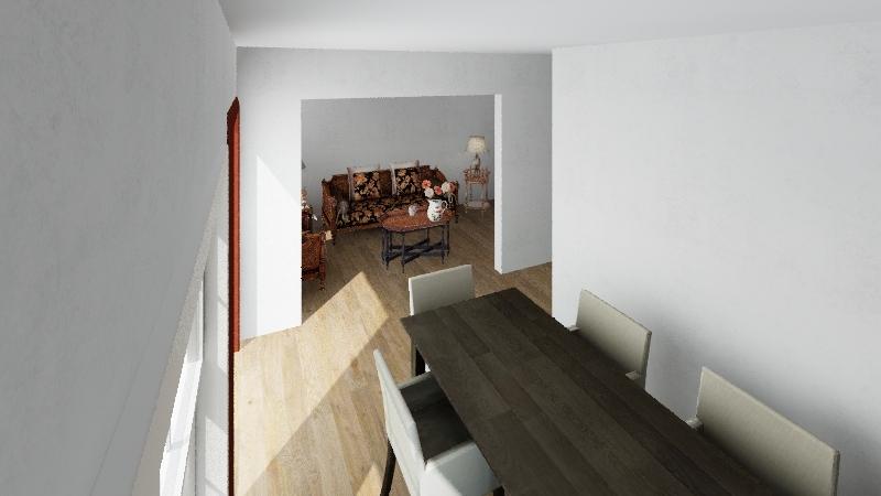 Villa las Mercedes  Interior Design Render