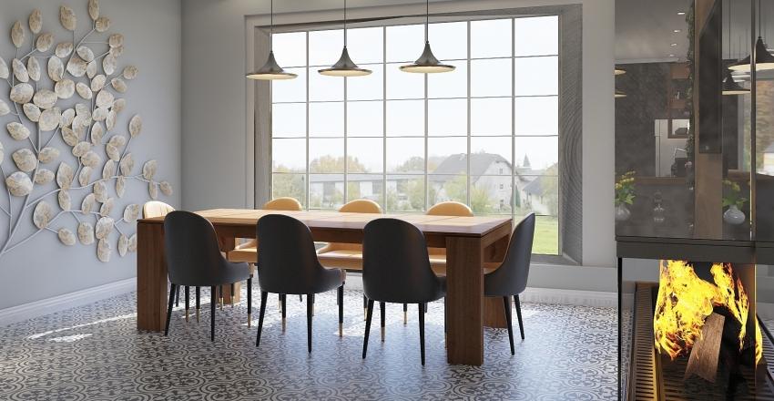 2.CAFE OTEL PROJE Interior Design Render