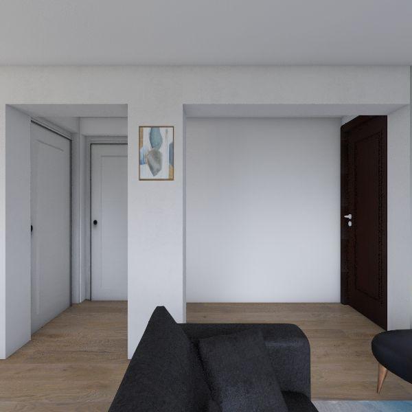 SALA-COMEDOR Interior Design Render