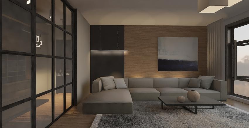аппартаменты Interior Design Render