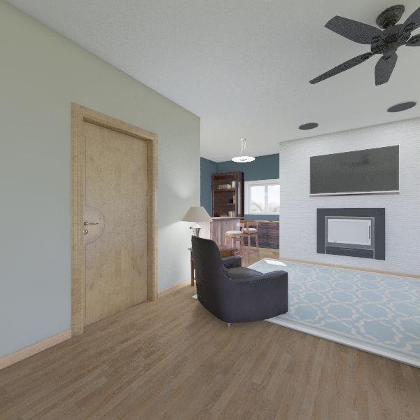 Hampe House Interior Design Render