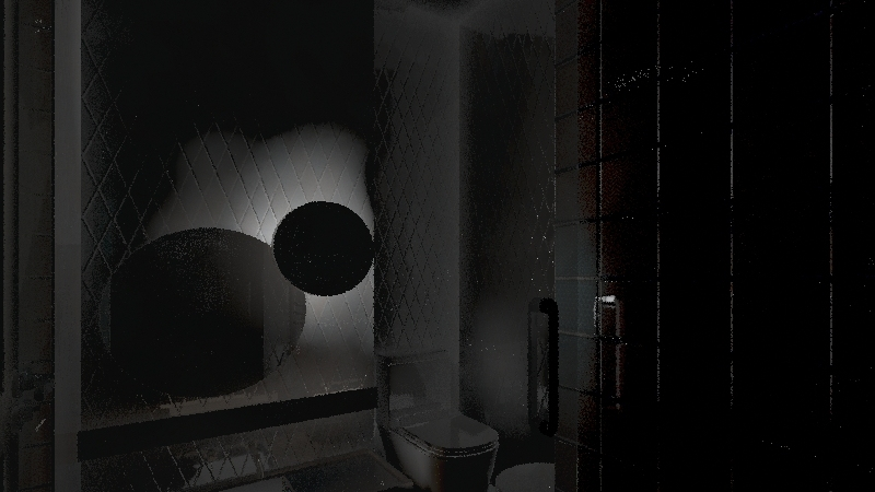 bagno pequeno Interior Design Render