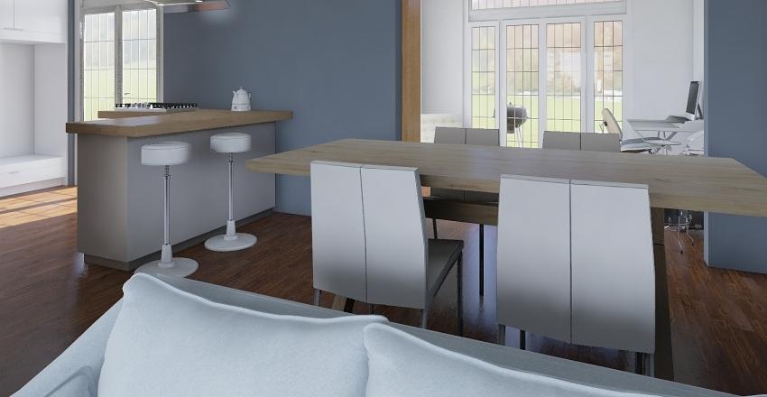 Four Bed Detached Interior Design Render