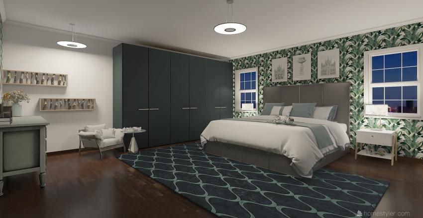 SICAK ATEŞ VE MANZARA Interior Design Render