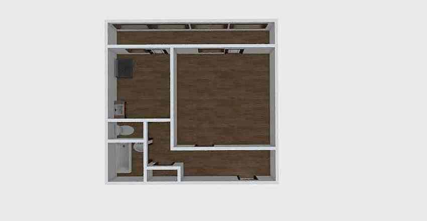1-комн_061 Interior Design Render