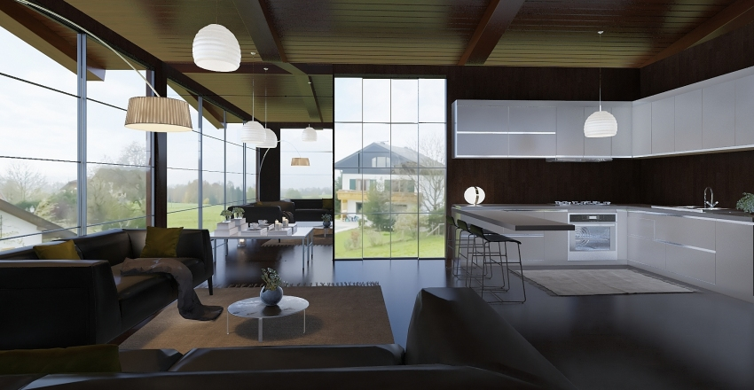 FAZENDINHA Interior Design Render